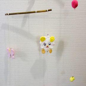 モビール・羊(小2)