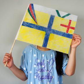 旗のデザイン(小4)
