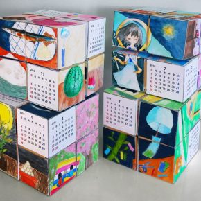 コロコロカレンダー完成(日曜午前クラス)