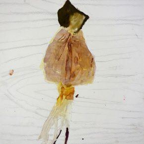 スルメの水彩画(小2)