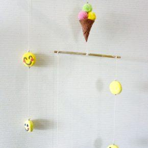 モビール・アイスと笑顔(小5)