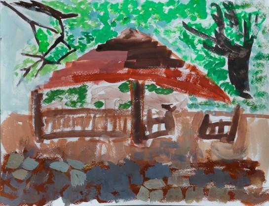 風景画(小3)