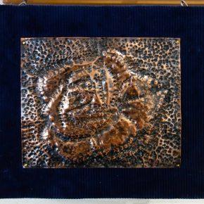 銅板レリーフ(小4)