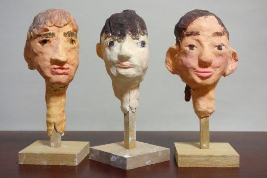 友達の顔を作ろう(土曜クラス1)