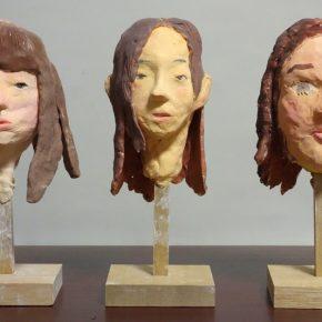 友達の顔を作ろう(日曜クラス)