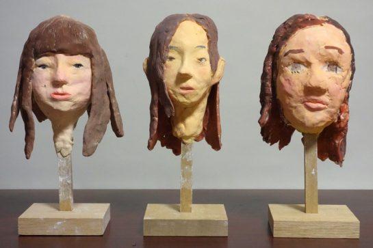 友達の顔を作ろう(日曜クラス1)