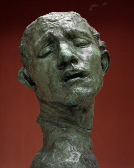 オーギュスト・ロダン「ピエール・ド・ヴィッサンの頭部」