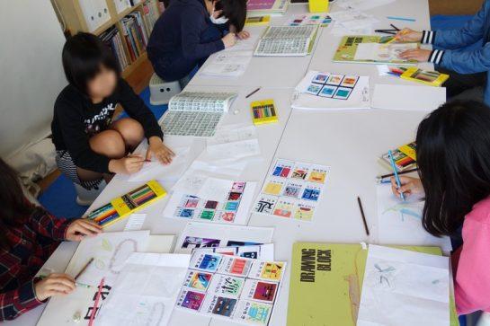 文字のデザイン(日曜午前クラス4月23日)