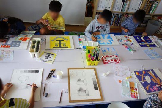 文字のデザイン(土曜クラス)