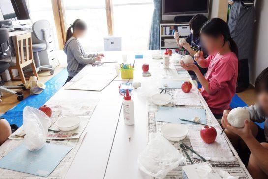 リンゴの模刻2週目(日曜午前クラス)