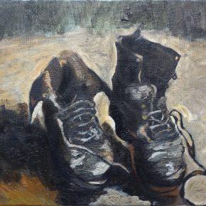 ゴッホ「靴」(中1)