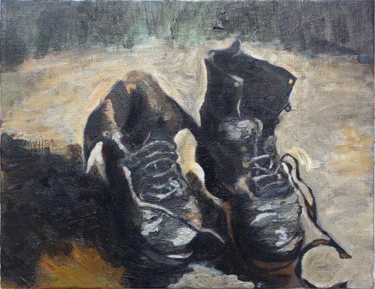 ゴッホ「靴」