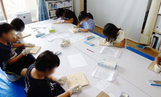 木彫時計(日曜午後クラス)
