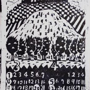 木版画カレンダー(小6)