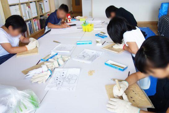 木彫時計4(日曜午後クラス)