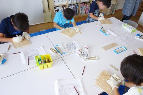 木彫時計4(土曜午後クラス)