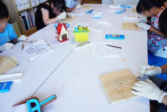 木彫時計5(土曜午後クラス)