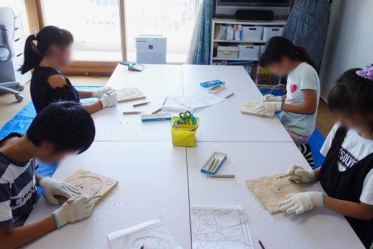 木彫時計5(土曜午前クラス)