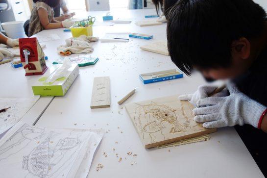 木彫時計3(日曜午後クラス)