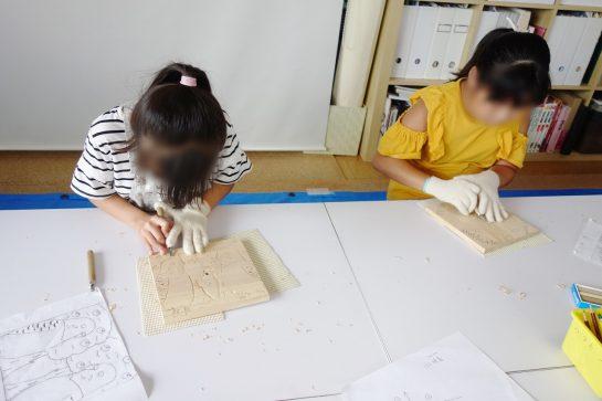木彫時計3(土曜午前クラス)