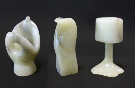 抽象石彫(小6)