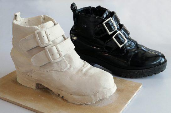 靴の模刻完成2021(中3)