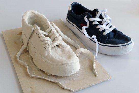 靴の模刻完成2021(中2)
