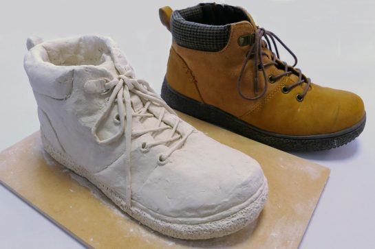 靴の模刻完成2021(小6)