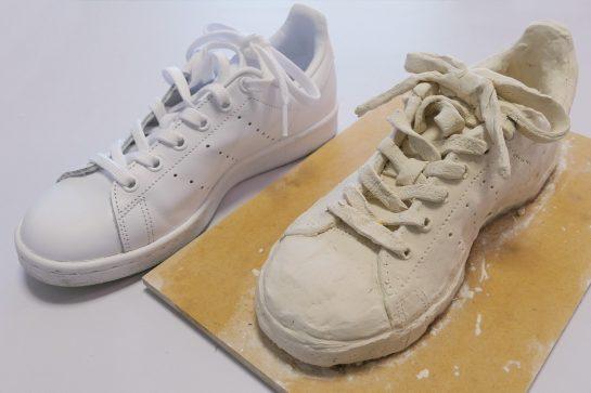 靴の模刻完成2021(小5)
